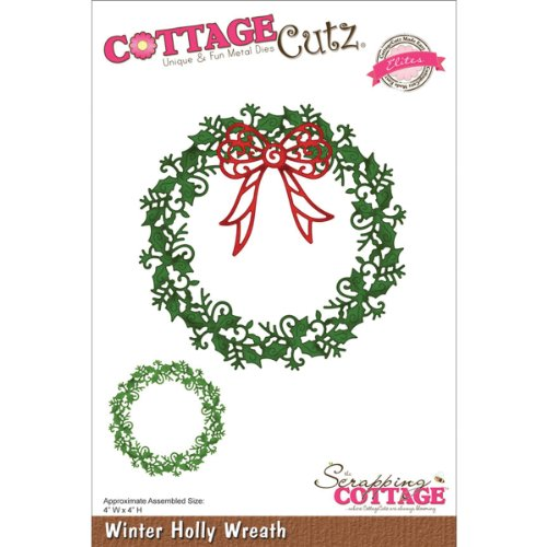 cottagecutz-elites-die-winter-holly-wreath