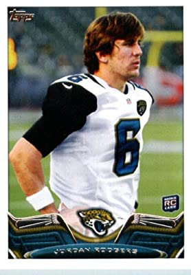 2013 Topps Football Card #5 Jordan Rodgers RC - Jacksonville Jaguars (RC - Rookie Card) NFL Trading Cards