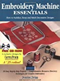 Embroidery Machine Essentials: How to Stabilize, Hoop and Stitch Decorative Designs