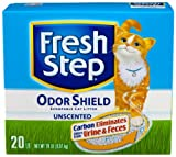 Fresh Step Odor Shield Unscented, 20-Pound Box
