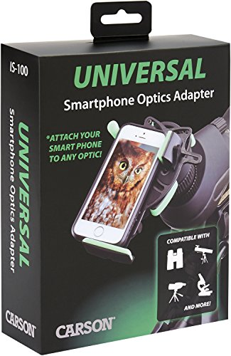 Carson Hookupz Universal Smart Phone Optics Adapter