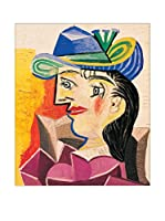 Artopweb Panel Decorativo Picasso Woman With a Blue Hat 63x53 cm (vuoto)