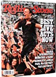 ROLLING STONE ROLLING STONE MAGAZINE ~ 1189 ~ THE BEST LIVE ACTS NOW / MUMFORD AND SONS / BRUCE SPRINGSTEEN