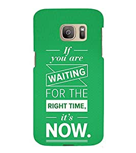 Motivation Quote 3D Hard Polycarbonate Designer Back Case Cover for Samsung Galaxy S7 :: Samsung Galaxy S7 G930F :: Samsung Galaxy S7 Duos G930FD