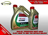 Castrol Edge FST 5W-40 4L+1L=5Litres Fully Synthetic Engine Oil 5L