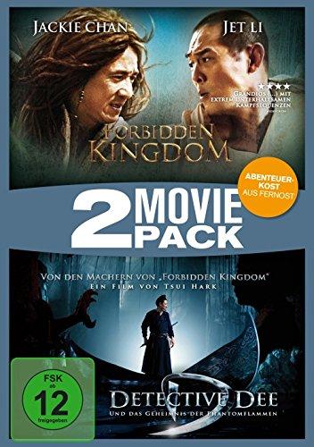 Forbidden Kingdom / Detectiv Dee und das Geheimnis der Phantomflammen - 2 Movie Pack [2 DVDs]