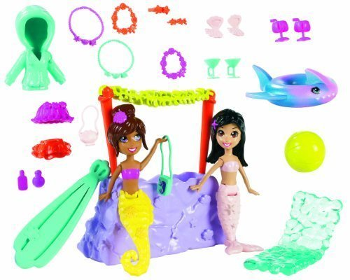 Polly Pocket the Ultimate World Collection by Mattel (English Manual)