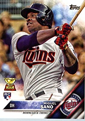 2016 Topps #78 Miguel Sano Minnesota Twins Baseball Rookie Card