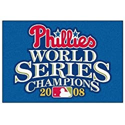 "2008 World Series Champion Philadelphia Phillies 20""x30"" Starter Floor Mat (Rug)"