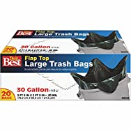 Do it Best Twist Tie Large Trash Bag-30GAL/20CT TRASH BAGS