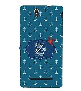 EPICCASE anchor of z Mobile Back Case Cover For Sony Xperia C3 (Designer Case)