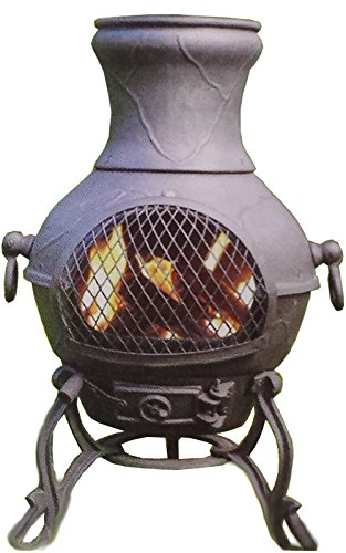 Chiminea-Outdoor-Fireplace-Wood-Burning-Etruscan-Design