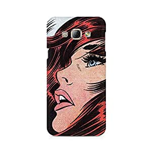 Mobicture Lion Premium Printed Case For Samsung A8
