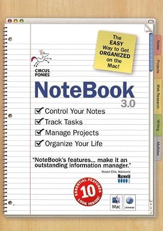 Circus Ponies Notebook 3.0