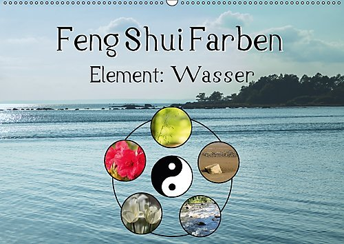 feng shui farben element wasser wandkalender 2017 din a2 quer die farbe blau steht im feng. Black Bedroom Furniture Sets. Home Design Ideas