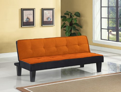 Acme 57029 Hamar Adjustable Sofa, Orange