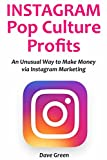 INSTAGRAM POP CULTURE PROFITS (2016): An Unusual Way to Make Money via Instagram Marketing... No Business Experience Required