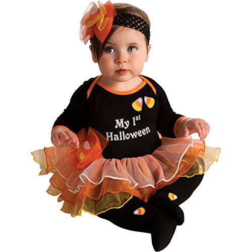 My First Halloween Tutu Baby Costume - 0-6 Months front-932639