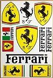 Ferrari Aufkleber