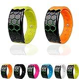 ELEGIANT Kadingle Bluetooth 4.0 Sport Contapassi sonno Monitor intelligente vigilanza di forma fisica Wristband...