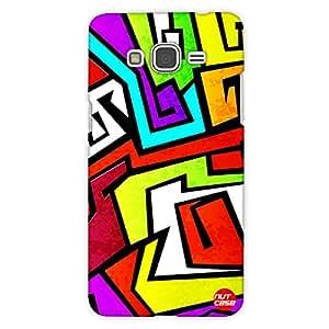 Designer Samsung Galaxy Grand Prime back Cover Nutcase- Graffiti Colors