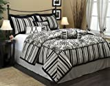 7 Piece Comforter Set- Charo Collection