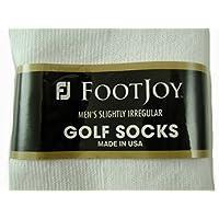 Footjoy Golf Socks Men's 7-12 Irregular Sport White 3 pair pr Peds Low Rise