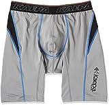 (ケイパ)Kaepa 吸汗速乾 ストレッチ カラー切り替え ロングボクサーブリーフ 906 36230 39 ダークグレー LL