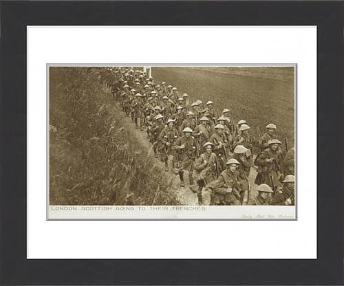framed-print-of-london-scottish-troops-heading-to-the-trenches-wwi