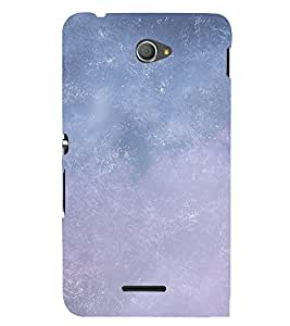 EPICCASE Grey Sky Mobile Back Case Cover For Sony Xperia E4 (Designer Case)