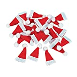 """Lot of 24 Mini 1"""" Red Santa Hats Christmas Doll Crafts (Toy)By Fun Express        Buy new: $6.119 used and new from $6.10    Customer Rating:     First tagged """"santa"""" by juan ignacio quintana osorio"""