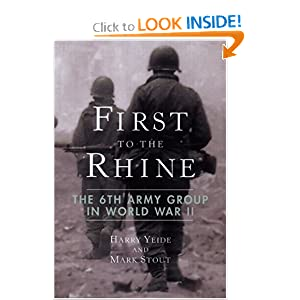 First to the Rhine: The 6th Army Group in World War II ebook downloads