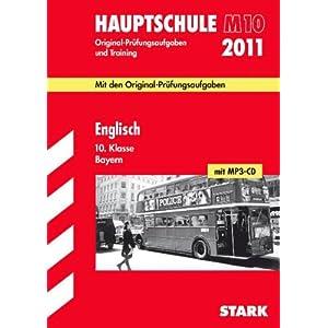 eBook Cover für  Englisch 10 Klasse mit MP3 CD 2011 Hauptschule M10 Mit den Original Pr xFC fungsaufgaben Jahrg xE4 nge 2008 2010 Original Pr xFC fungsaufgaben und Training bis 2010 mit L xF6 sungen zur Abschlusspr xFC fung