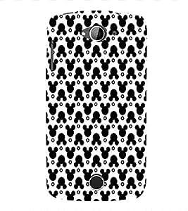 EPICCASE funky mickey Mobile Back Case Cover For Acer Liquid Z530 (Designer Case)