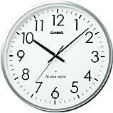 CASIO (カシオ) 電波アナログ掛け時計 オフィスタイプ シルバー IQ-2000J-8JF
