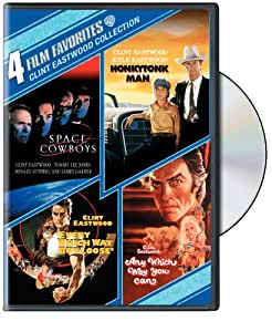 4 Film Favorites: Clint Eastwood (Space Cowboys, Honkytonk Man, Every Which Way But Loose, Any Which Way You Can)