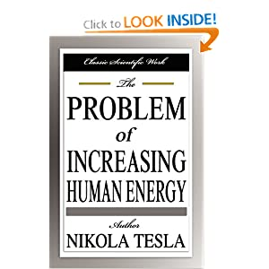 Click to buy The Problem of Increasing Human Energy <b>Paperback</b> from Amazon!