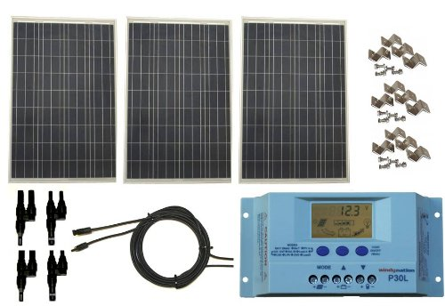 Coleman 40 Watt 12 Volt Solar Panel Rv Boat Off Grid with 7.5 Amp Charge Control