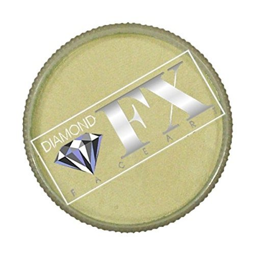 Diamond FX Metallic Face Paint - White (32 gm)