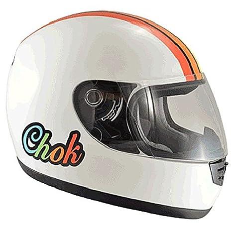 Casque moto intégral CHOK RAPTOR LADY 15 - Blanc