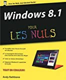 echange, troc Andy RATHBONE - Windows 8.1 Pour les Nuls
