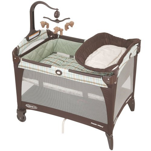 Graco Pack 'N Play Playard with Bassinet and Changer, Brentwood
