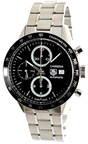 [タグホイヤー]TAGHEUER 腕時計 カレラ クロノグラフ ブラック CV2010.BA0794 メンズ [並行輸入品]