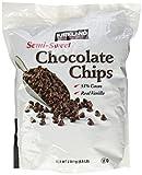 Kirkland Signature Semi-Sweet Chocolate Chips 4.5 pounds, resalable Bag.
