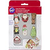 Wilton 2104-6012 Gingerbread Icing Decorations