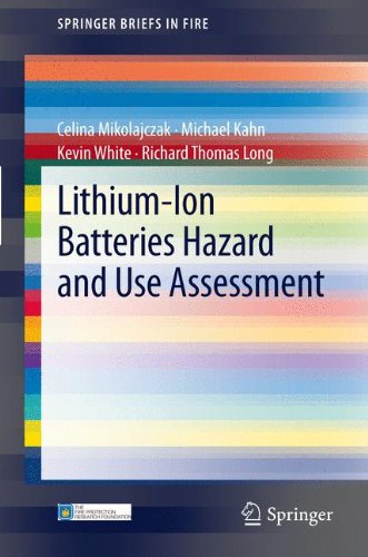 Lithium-Ion Batteries Hazard and Use Assessment (SpringerBriefs in Fire)