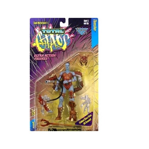 Total Chaos Series 1 Thresher Action Figure - 1