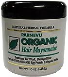 Parnevu Organic Hair Mayonnaise 16 oz. (Pack of 2)