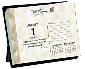 2014 daily date motivational inspirational desk calendar for Inspirational items for office