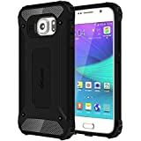 Galaxy S6 Case Cubix Rugged Armor Case For Samsung Galaxy S6 (Black)